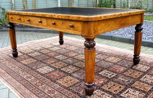 Antique Library Table 3